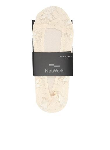 NetWork Çorap Bej